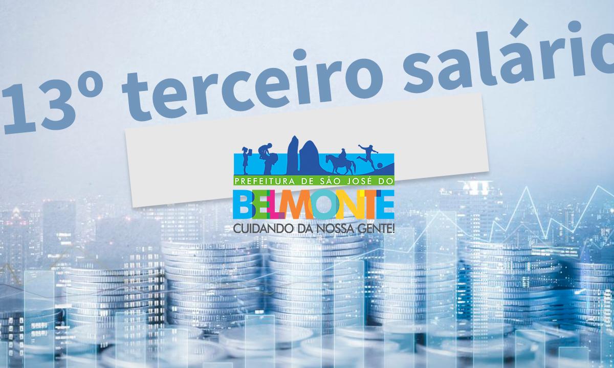 Prefeitura de São José do Belmonte paga 13° até o dia 20