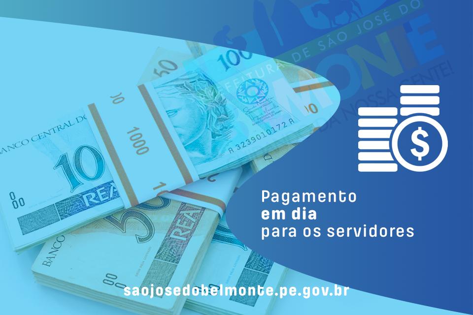 Servidores de São José do Belmonte recebem pagamento nesta quinta