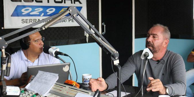 Romonilson anuncia obra de saneamento de todas as ruas da Cacimba Nova