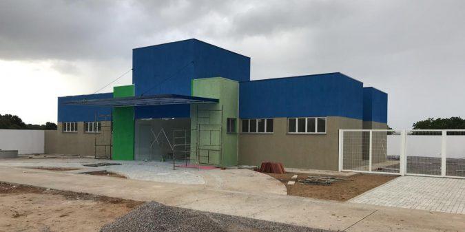 Obra do Posto de Saúde do Sítio Luiz Pereira está 95% concluída