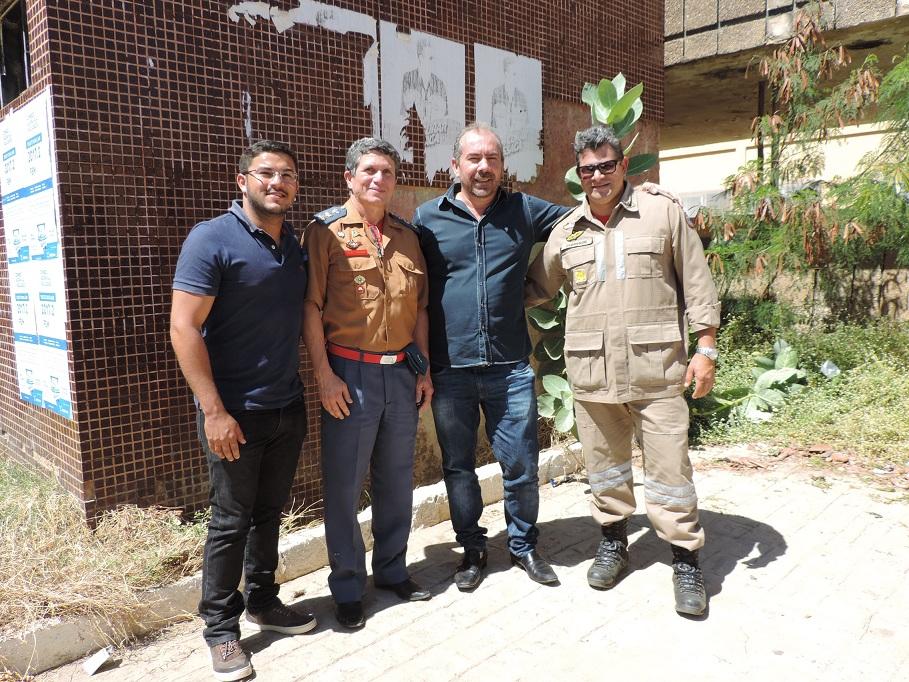 Comando do Corpo de Bombeiros visita São José do Belmonte