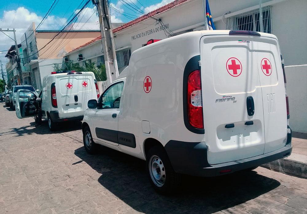 Prefeitura de São José do Belmonte recebe mais duas ambulâncias