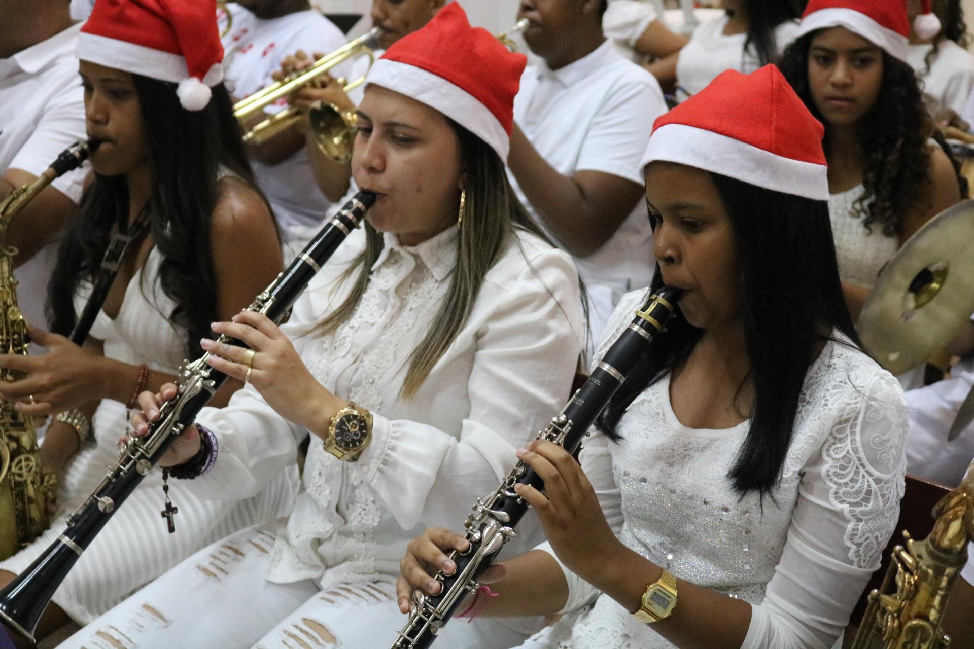 Filarmônica São José encerra turnê do Concerto Natalino