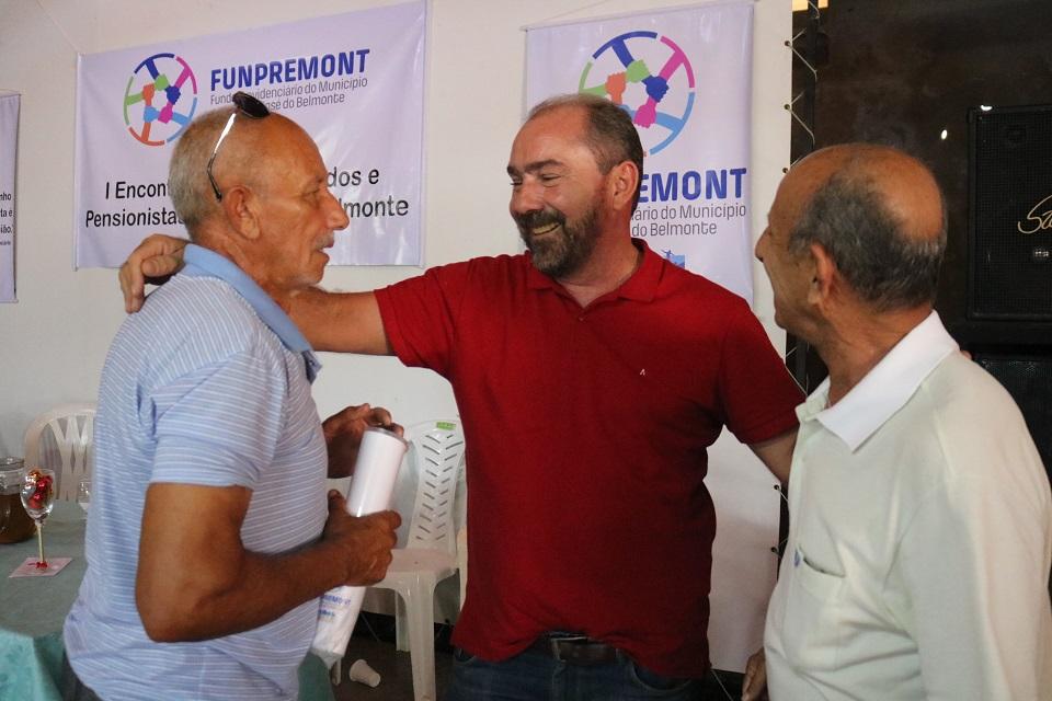 FUNPREMONT: 1º Encontro de Aposentados e Pensionistas é realizado em São José do Belmonte