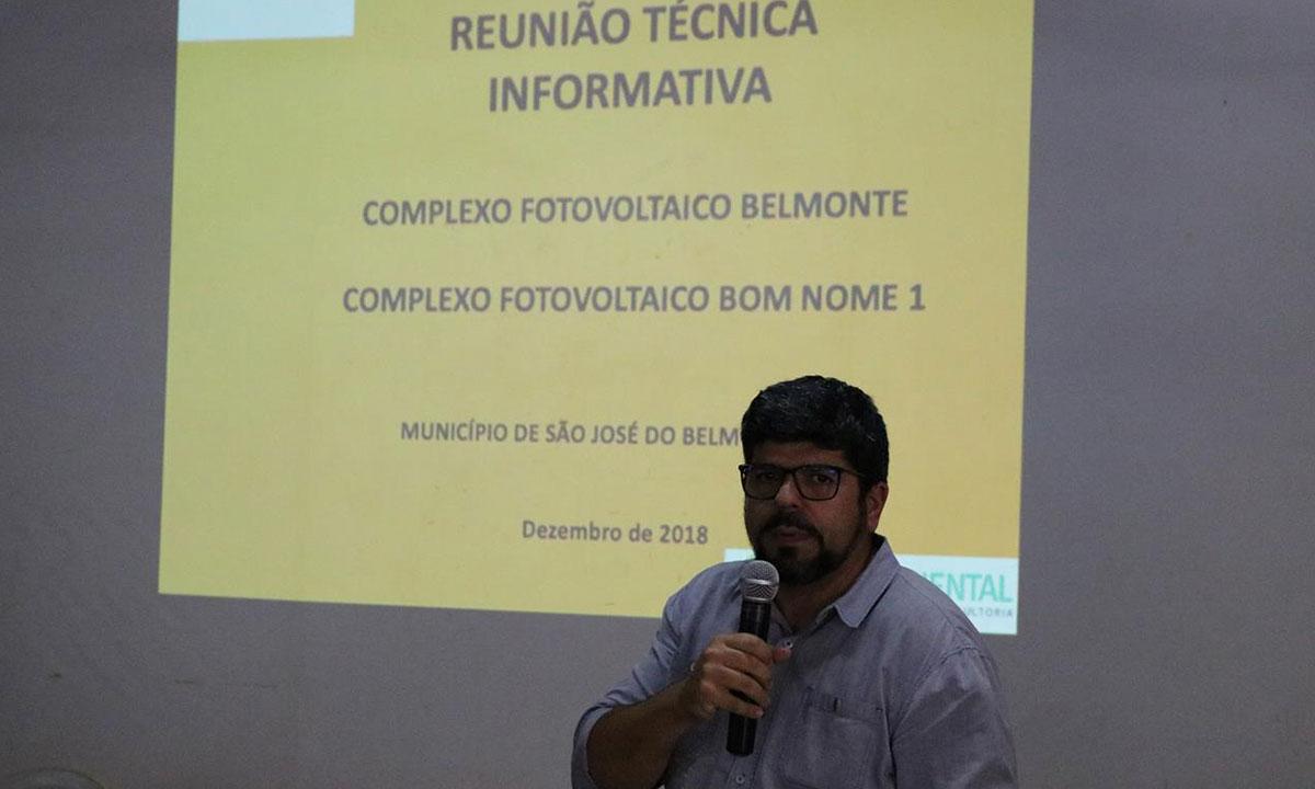 São José do Belmonte terá o maior projeto de usina solar da América Latina