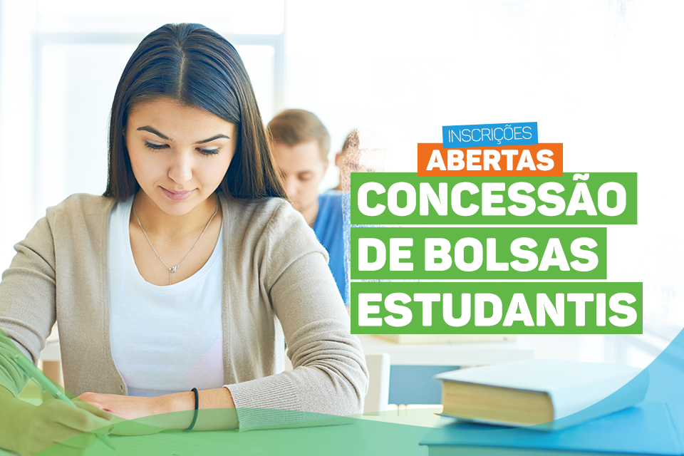 Abre nesta segunda as inscrições para concessão de bolsas estudantis 2019