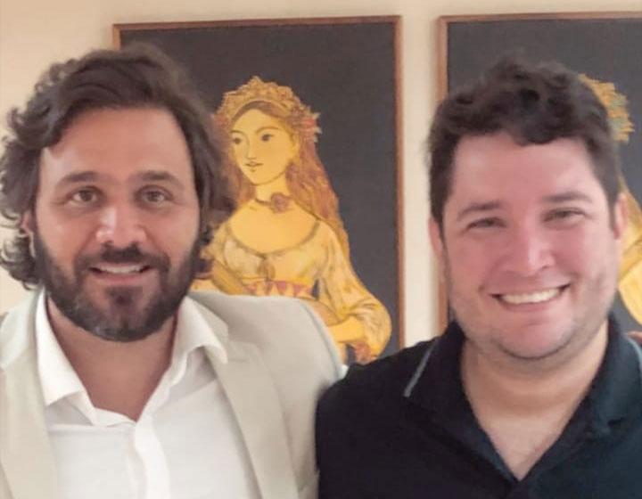 Jackson Berg se reúne com Rodrigo Novaes, novo secretário de Turismo de Pernambuco