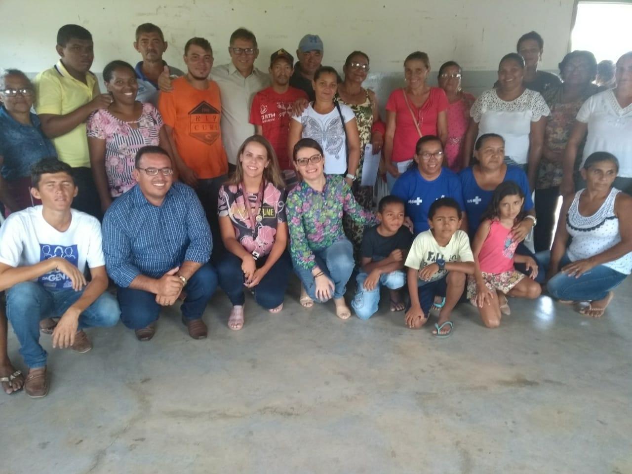 Prefeitura abre posto do Saúde da Gente na Malhada Vermelha