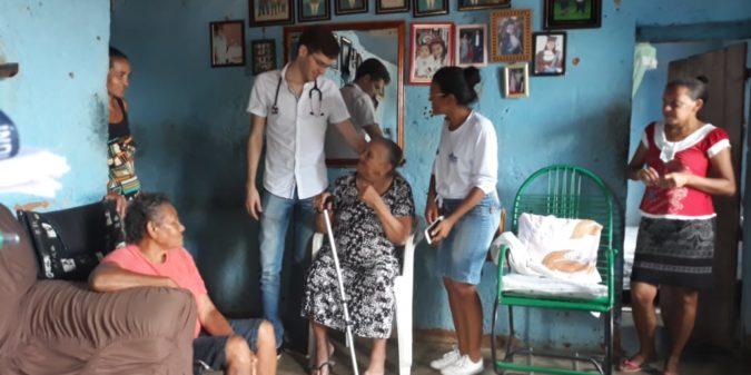 Equipes de saúde de São José do Belmonte realizam visita domiciliares