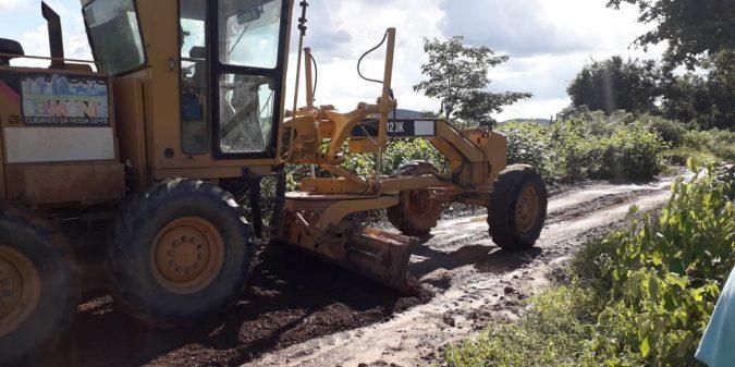 Prefeitura melhora estradas e leva infraestrutura à zona rural de São José do Belmonte