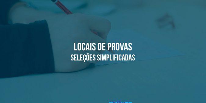 Prefeitura divulga relação com locais de provas das seleções públicas simplificadas