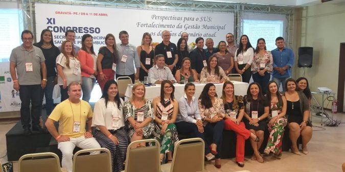 Secretária de Saúde de São José do Belmonte toma posse como vice-presidente regional do COSEMS