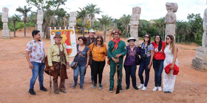 Secretaria Estadual de Turismo faz estudo técnico da Cavalgada à Pedra do Reino