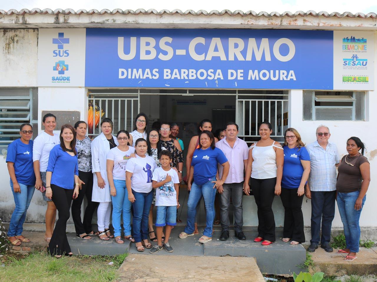 Distrito do Carmo realiza a Semana da Saúde