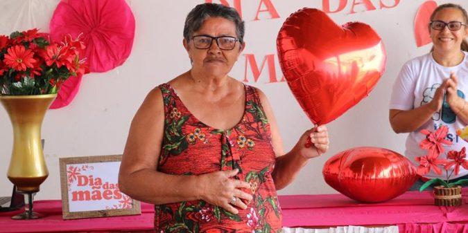 CAPS realização comemoração do Dia das Mães