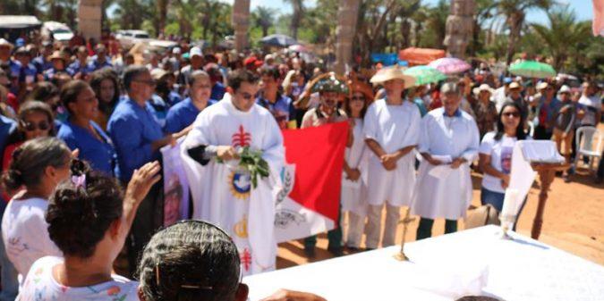 FOTOS: Missa celebrada na Pedra do Reino dá início a 27ª Cavalgada