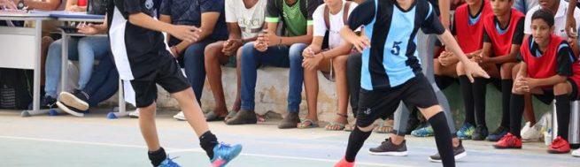 Começou a fase municipal jogos escolares em São José do Belmonte