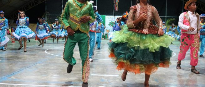 Quadrilha Junina Nação Reino Encantado levou alegria ao Povoado do Jatobá