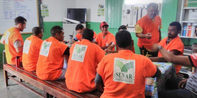 Parceria entre Prefeitura e SENAR oferecem cursos para moradores do Povoado do Serrote