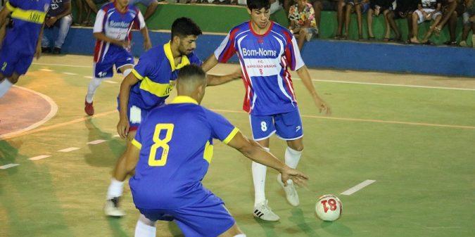 Três jogos movimentaram a primeira rodada do Campeonato Belmontense de Futsal