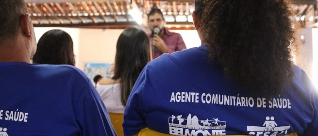 Agentes comunitários de saúde recebem capacitação em São José do Belmonte
