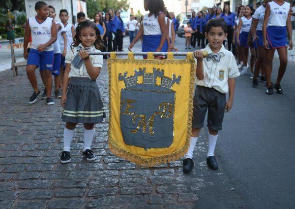 Desfile cívico celebra 197 anos da Independência do Brasil, em São José do Belmonte