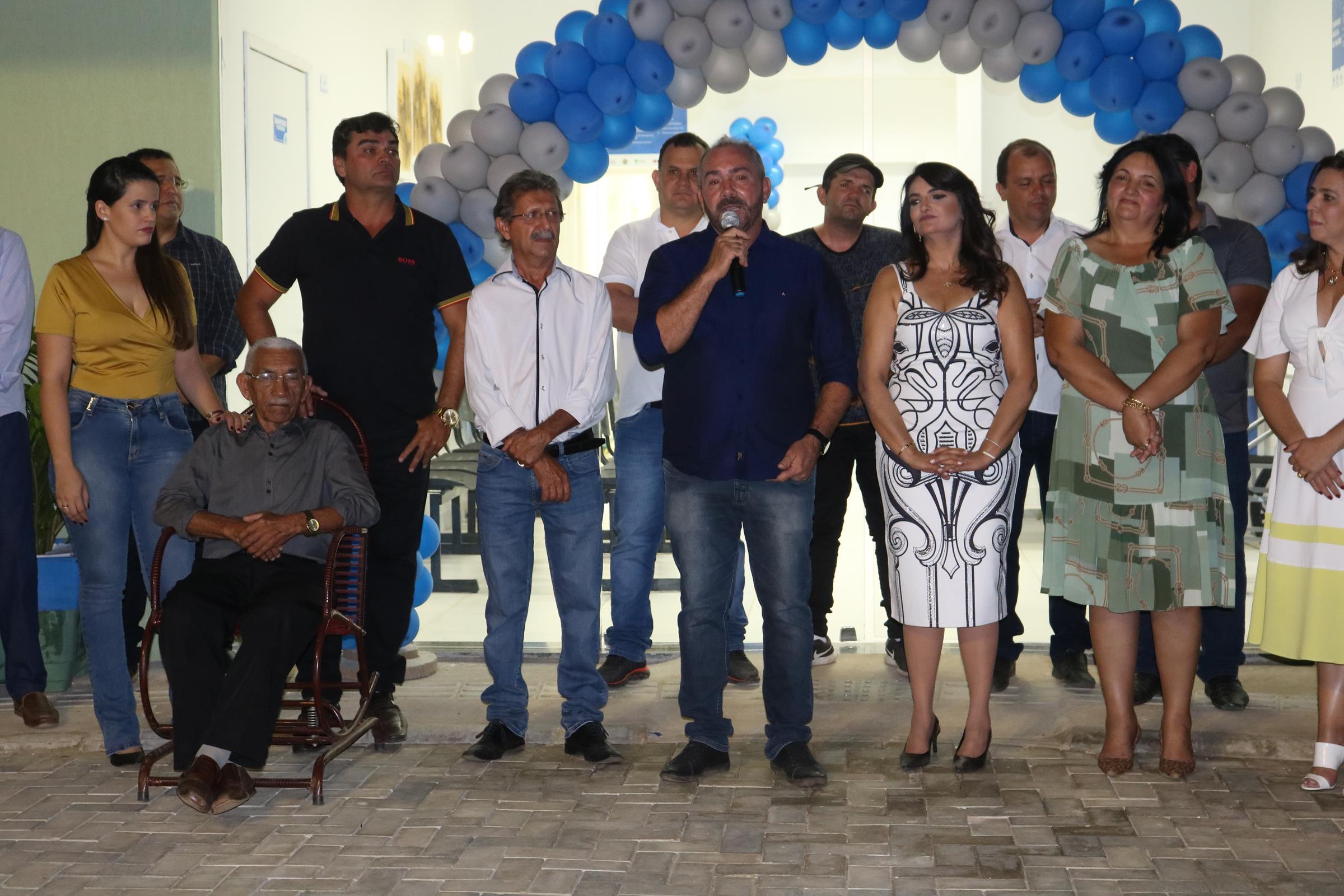 Com discurso emocionado Romonilson inaugura UBS do Sítio Luiz Pereira