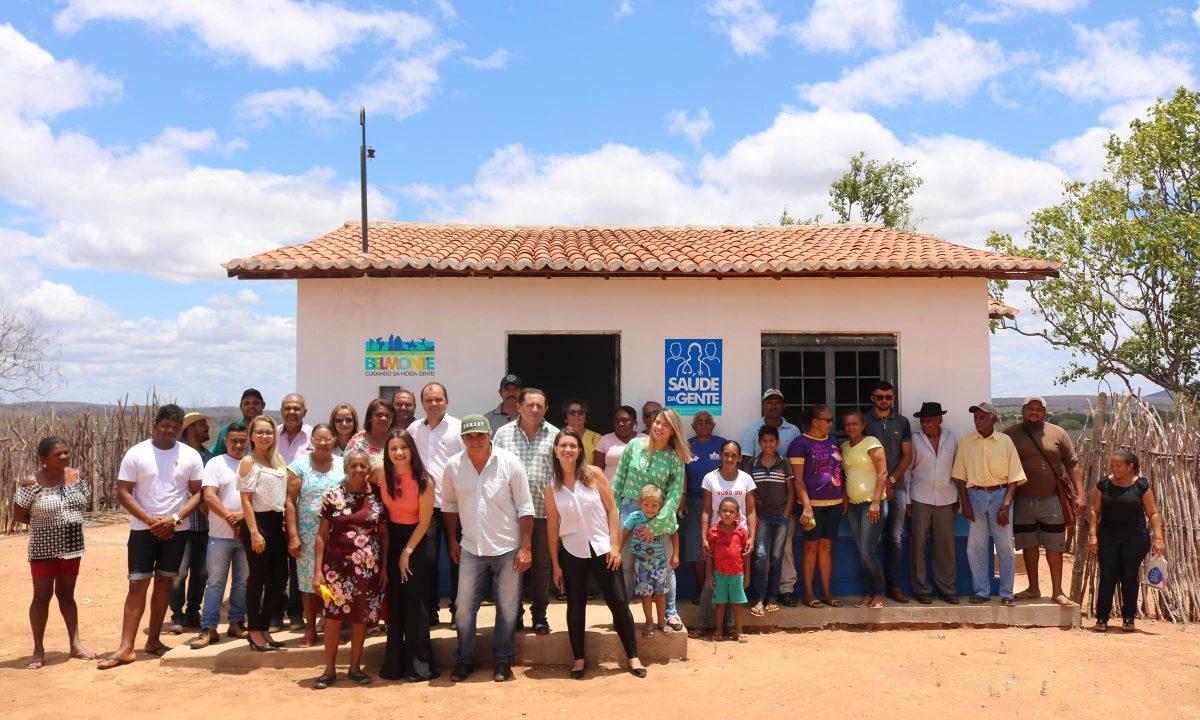 Romonilson abre mais um posto do Programa Saúde da Gente é inaugurado