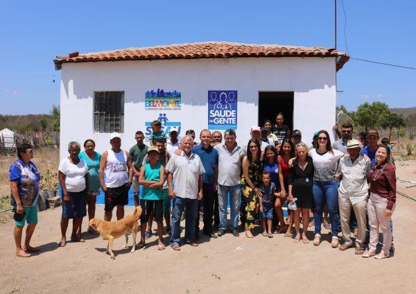 27º Posto do Saúde da Gente é inaugurado por Romonilson