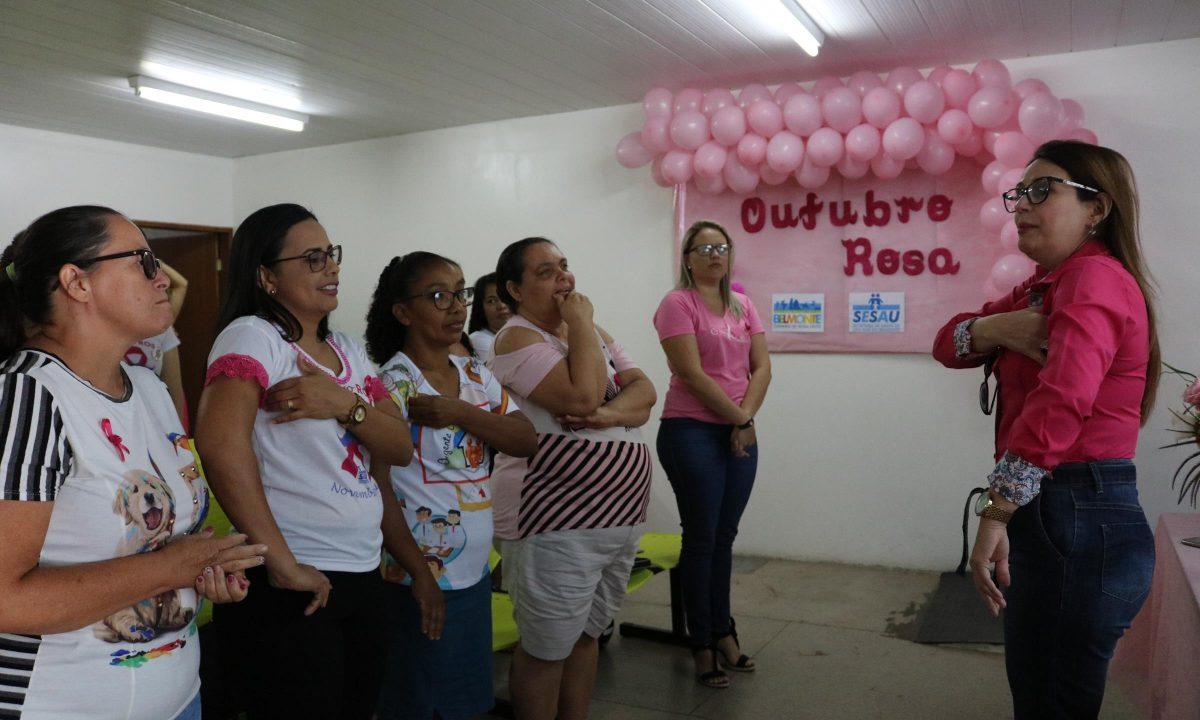 OUTUBRO ROSA: Dra. Josildete Lorena ministra palestra sobre o câncer de mama