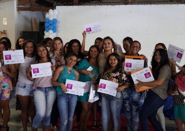 Finalizado o 1º Curso de Cabeleireiro no CRAS São José do Belmonte