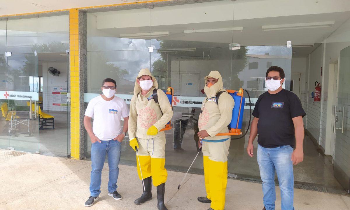 CORONAVÍRUS: Hospital de São José do Belmonte passa por desinfecção