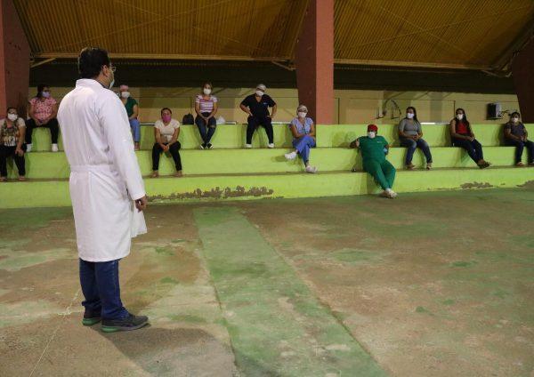 Servidores da UMLPM recebem treinamento sobre o novo coronavírus