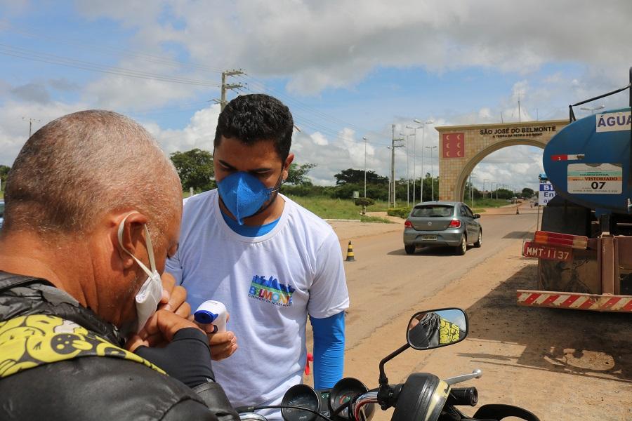 Prefeitura torna uso de máscara obrigatório nas ruas de São José do Belmonte