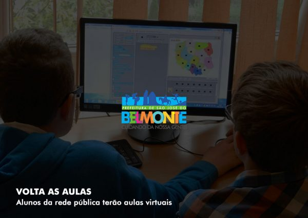 Escolas da Rede Municipal de São José do Belmonte retomam atividades pedagógicas com aulas pela internet