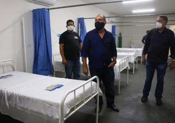 Prefeitura de São José do Belmonte inaugura Centro com 12 leitos de retaguarda e ambulância exclusiva para pacientes da Covid-19