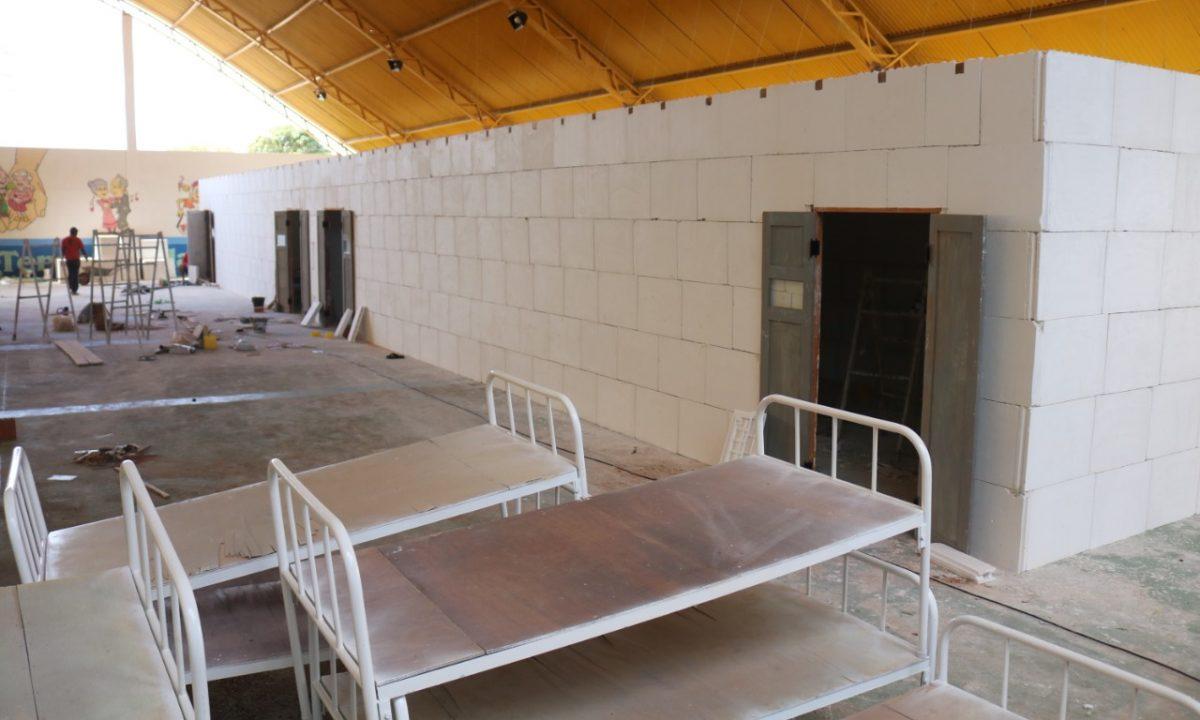 Novo Centro de Atendimento exclusivo ao Covid está sendo construído em São José do Belmonte